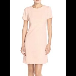 NWOT Vince Camuto Blush Pink Shift Dress